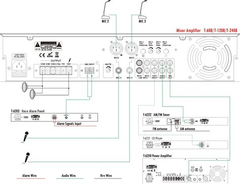 Power Lifier Sound Standard Ca20 headset with mic wiring diagram 120 headset get free