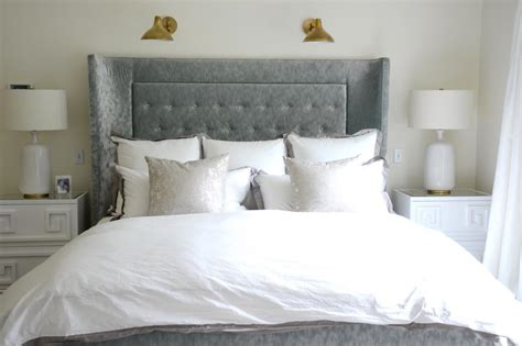 grey tufted headboard grey velvet headboard velvet tufted headboard light grey