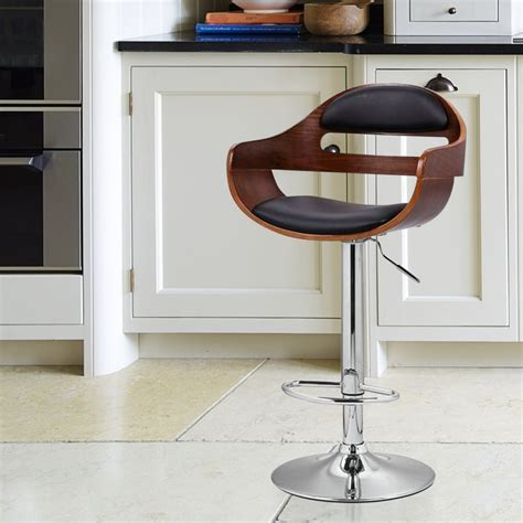 Chrome Swivel Counter Stools by Furniture Swivel Wooden Leather Bar Stools With Backs