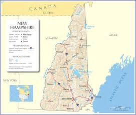 Nh State Map by New Hampshire Map New Hampshire State Map New Hampshire