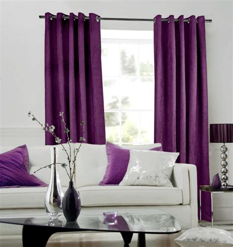 Purple Valances For Windows Ideas How To Select The Right Window Curtains In Your Interior Decoration Purple Curtains Loft