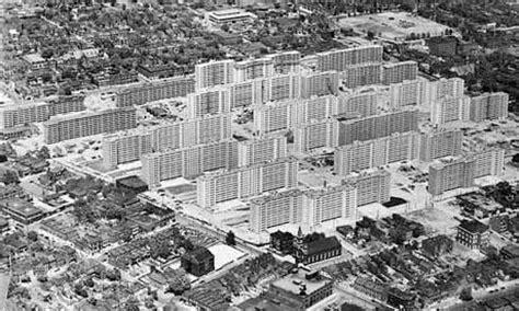 st louis housing pruitt igoe death of an american housing dream art and design the guardian
