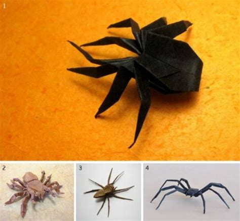Spider Web Origami - origami for