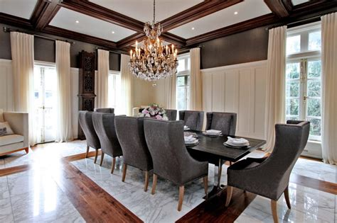 Marble Dining Room Table by Luxury Home Staging Modern Mansion Traditional