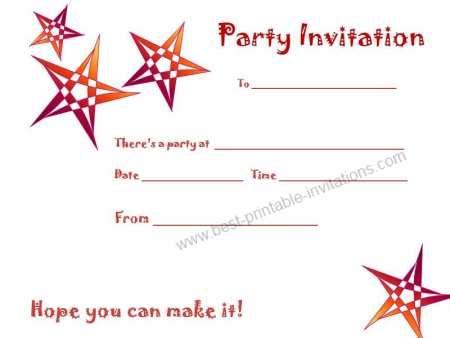 Simple Birthday Invitation Templates printable birthday invitations the cheapest way for