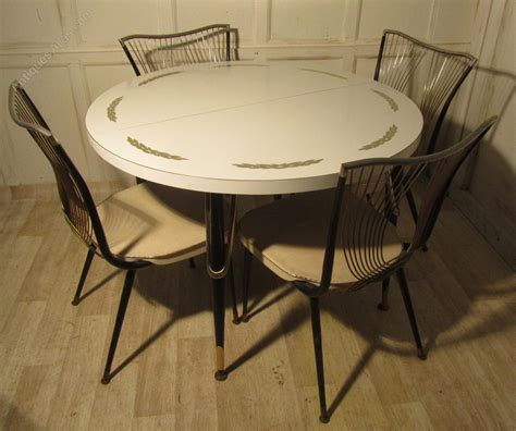 round table for 4 antiques atlas 1960 70s retro round formica table and 4