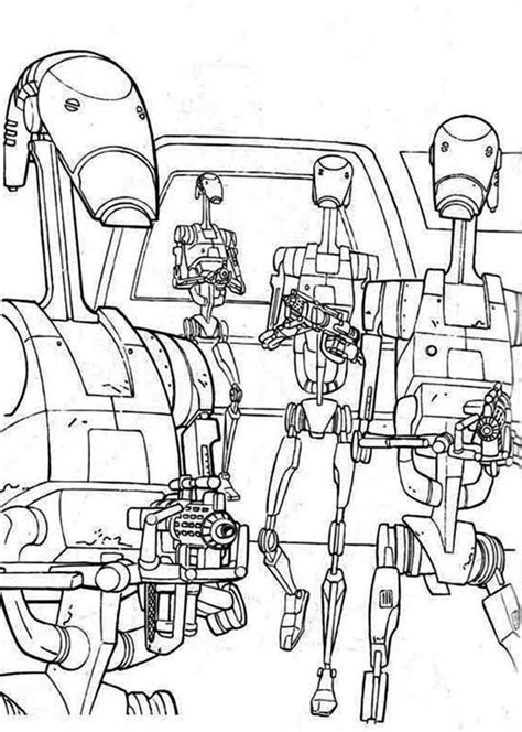 star wars droid coloring page droids with weapons free coloring page kids movies