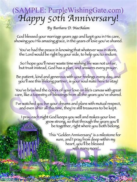 50th wedding anniversary poems from grandchildren happy 50th anniversary golden anniversary home and gifts