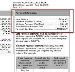 credit card billing statement template monthly credit card statement walkthrough