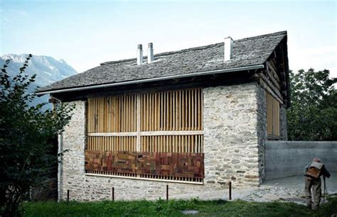 convert traditional home to modern an old barn gets a modern conversion in soglio switzerland modern house designs