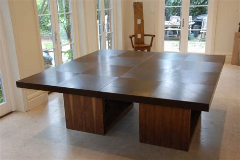 Dining Table in wenge & walnut   Makers' Eye
