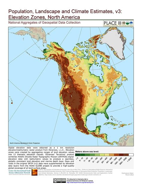 america map elevation maps 187 national aggregates of geospatial data collection