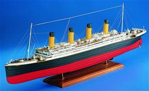 amati rms titanic  wooden model ship kit  hobbies