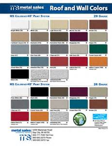 metal sales colors bay city michigan metal sales manufacturing corporation