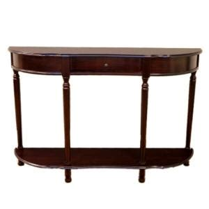 Sofa Table Home Depot by Frenchi Home Furnishing Console Sofa Table With Drawer