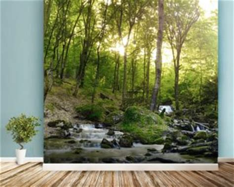 forest wall mural wallpaper tree wallpaper forest wallpaper murals wallsauce