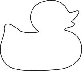 Duck Outline Printable by Rubber Ducky Image Cliparts Co