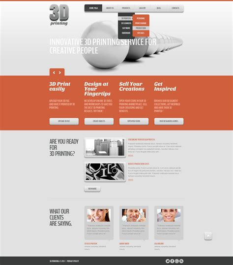 template joomla bootstrap free bootstrap print shop joomla template 43610
