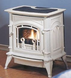 black pot belly gas ventless fireplace living room