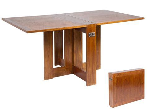 mesas plegables de comedor mesa plegable abatible de madera con asas para sal 243 n comedor