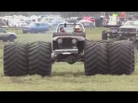 monster trucks in the mud videos big mud monster trucks off road 4x4 on farm youtube