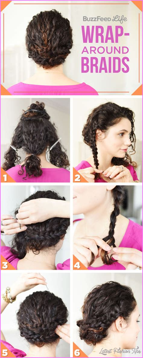 Easy Hairstyles For Curly Frizzy Hair by Easy Hairstyles For Frizzy Hair Latestfashiontips