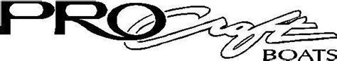 procraft boat decals boat decals and personal watercraft decals procraft