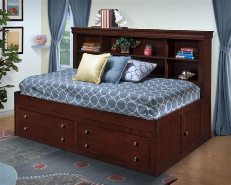 captain bed full new classic versaille twin lounge captain s bed del sol