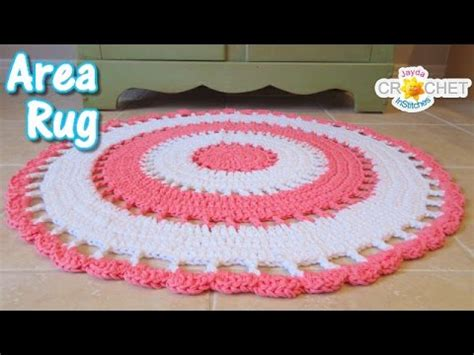 simple pattern area rugs beautiful area rug crochet tutorial youtube
