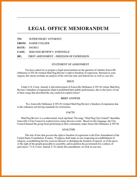 7 exles of legal memorandum mailroom clerk