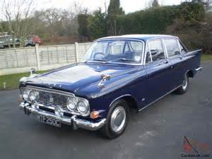 Used Cars In Uk Ebay 1965 Ford Zodiac Executive Mk3 Manual Version