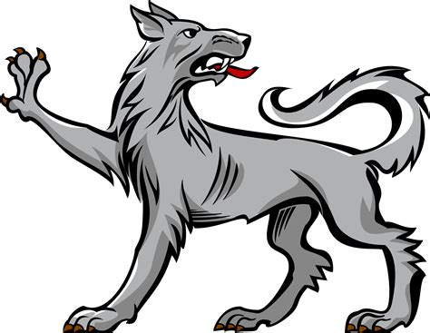 wolf rampant heraldry google search art ideas