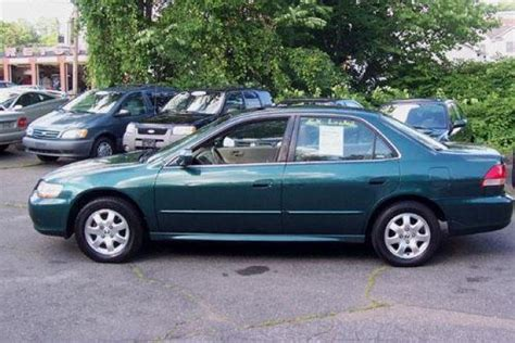 2002 green honda accord just cleared honda accord 2002 american specs for sale
