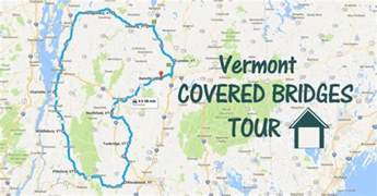 there s a covered bridge tour in vermont and it s