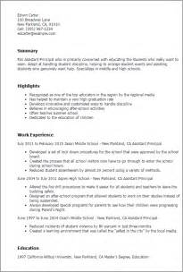 cover letter assistant principal cover letter for time assistant principal