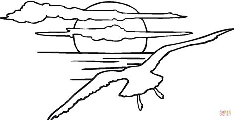 sunset coloring pages sunset landscapes coloring pages coloring pages