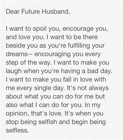 thank you letter to my future husband brecreelman awe l o v e the