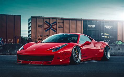 Ferrari 458 Liberty Walk 2 Wallpaper Hd Car Wallpapers