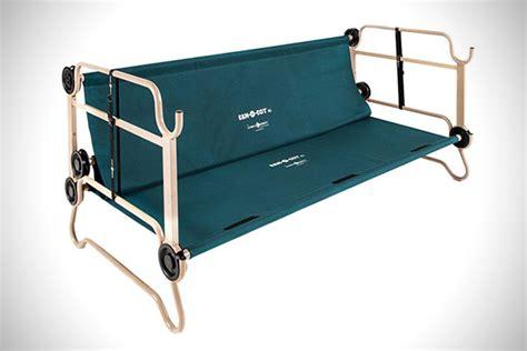 portable bunk beds cam o bunk portable c bunk beds hiconsumption