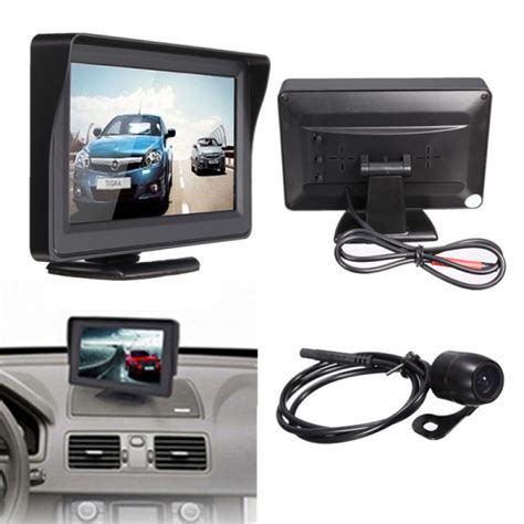 Monitor Lcd Vision buy 4 3inch tft lcd car rear view monitor vision bazaargadgets