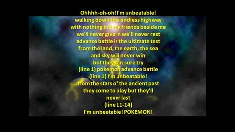 theme songs of pokemon pokemon theme song lyrics www imgkid com the image kid