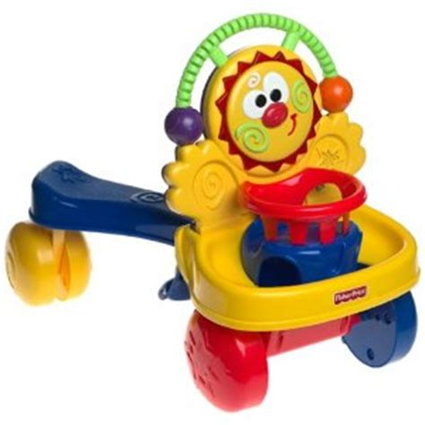 Baby Walker Ride On To Walk fisher price stride to ride walker shespeaks