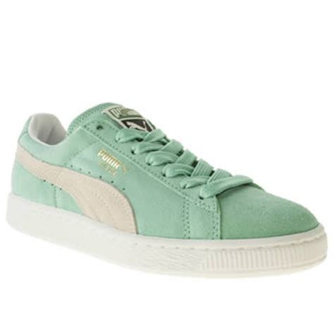 Suede Chepeer Rihana Pink Green Original China buy mint pumas baby shoes discount for sale
