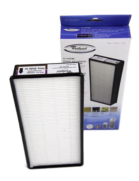 whirlpool hepa filter tower air purifier 1183900