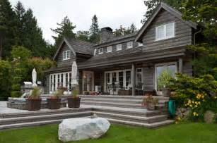 Contemporary Patio Umbrellas Bowen Island Waterfront Traditional Exterior Other