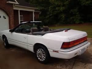 1994 Chrysler Lebaron Convertible 1994 Chrysler Lebaron Gtc Convertible 2 Door 3 0l
