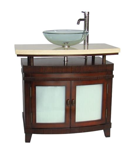 chans furniture q336m arturas 36 inch cherry bathroom