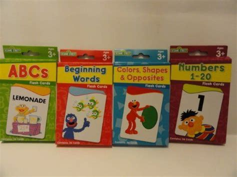 sesame educational flashcards colors shapes more with abby cadabby books pin by elora bacolor on toys flash cards