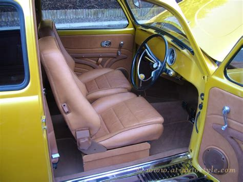 volkswagen beetle modified interior vw beetle interior 23 a t autostyle