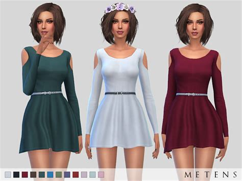 sims 4 clothing for females sims 4 updates wisteria dress by metens at tsr 187 sims 4 updates